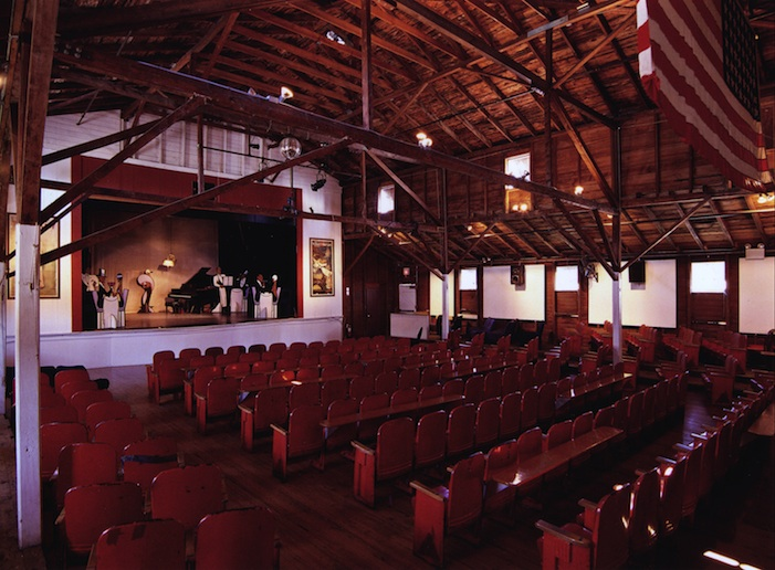 Interior of Historic Empire Theatre, Block Island