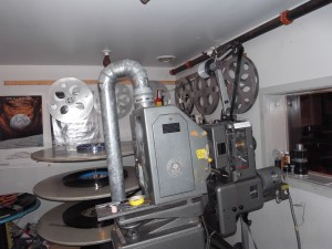Empire Theatre, Block Island Projection Booth